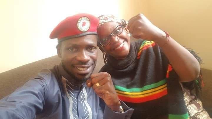 Dr Stella Nyanzi and Bobi Wine