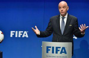 FIFA president Infantino