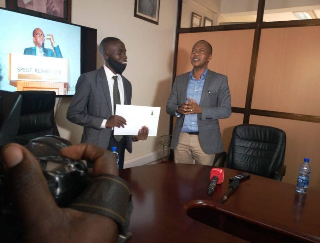 Frank Gashumba's Sisimuka Uganda contributes towards John Katumba's campaigns.
