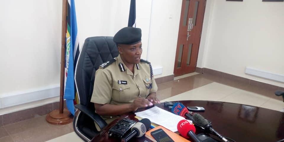 Polly Namaye, the Uganda Police Deputy Spokesperson