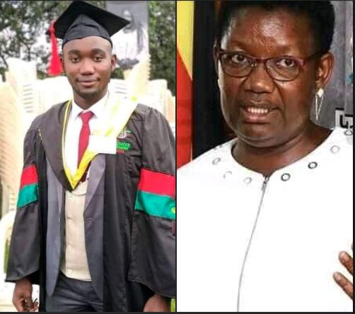 Minister for presidency losses her only son