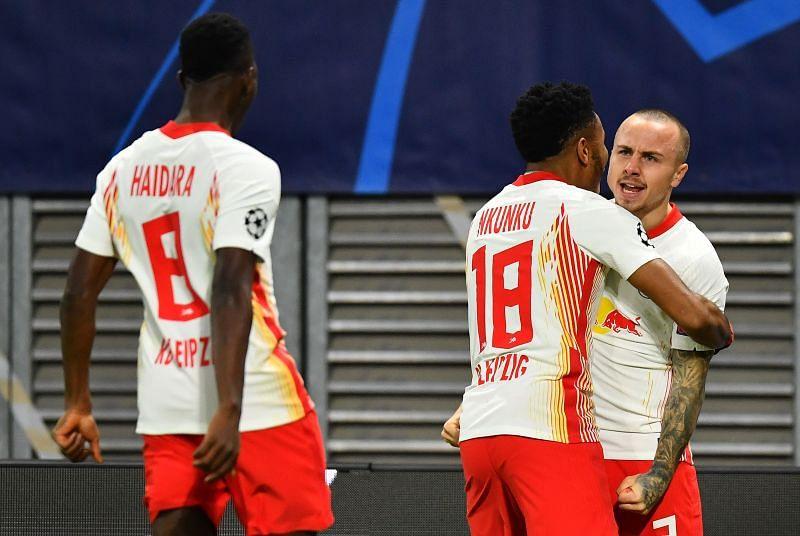RB Leipzig through, Man Utd out in UEFA Champions League