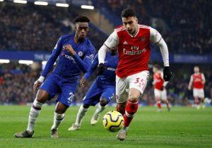 Arsenal upset Chelsea