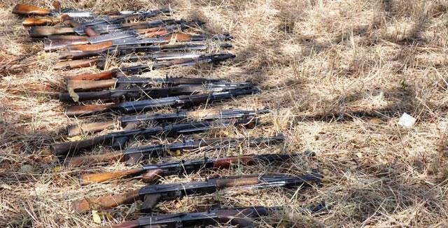 UPDF recovers 135 illegal guns in Karamoja