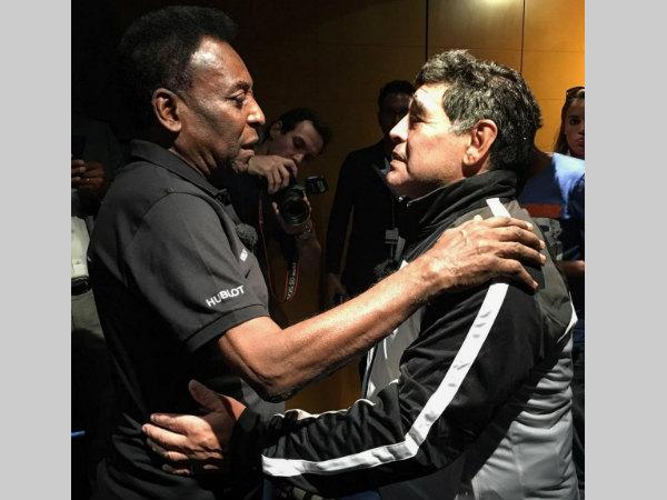 Pele bids emotional farewell to 'incomparable' Maradona