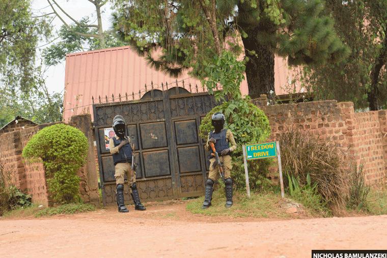 Uganda Police Maintains Deployment at Bobi Wine's Home Despite Court Order