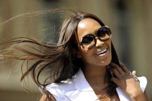 Kenyan signs up British model Naomi Campbell to promote tourism