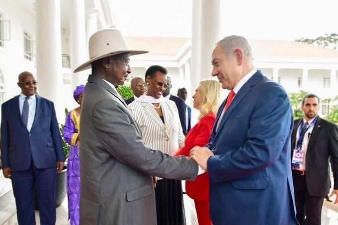 Israeli Prime Minister congratulates President Museveni on re-election