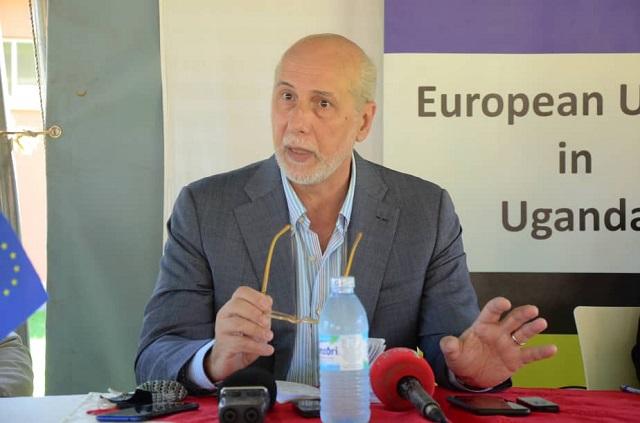 Uganda scoffs at EU proposal to sanction gov't officials over Jan. 14 polls