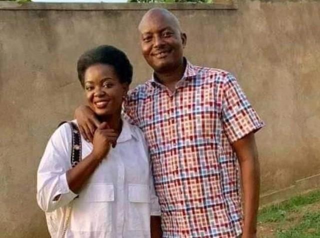Susan Makula and Pastor Bugingo