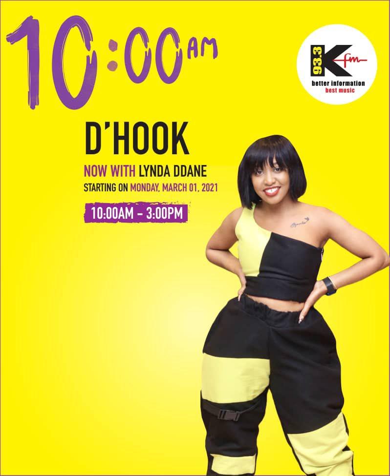 Lynda Ddane dumps Radio City For Namuwongo based KFM