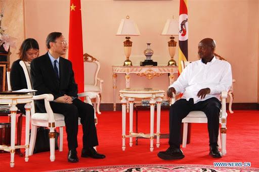 President Museveni meets senior Chinese diplomat on bilateral ties
