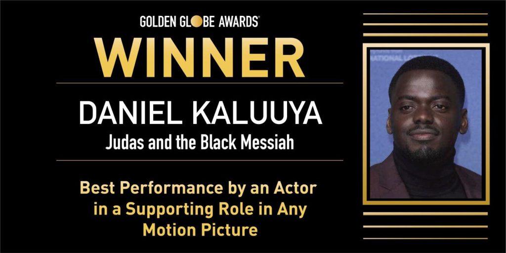 Ugandan-British Daniel Kaluuya actor wins big at Golden Globe awards