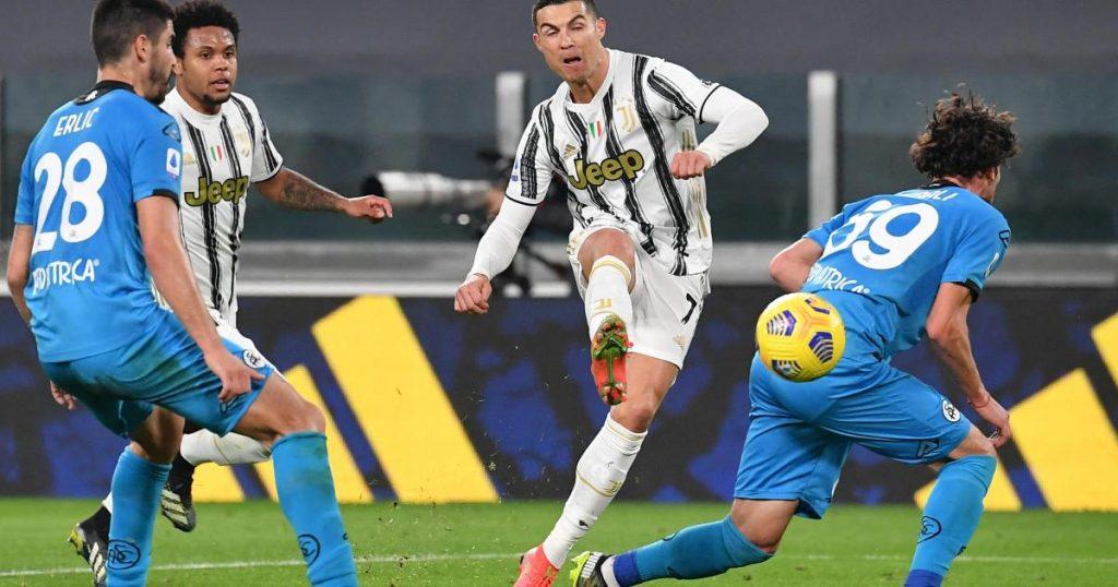 Juventus beat Spezia in Serie A