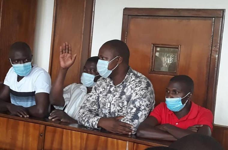 "Ugandan Comedians ""Bizonto"" Granted Bail"
