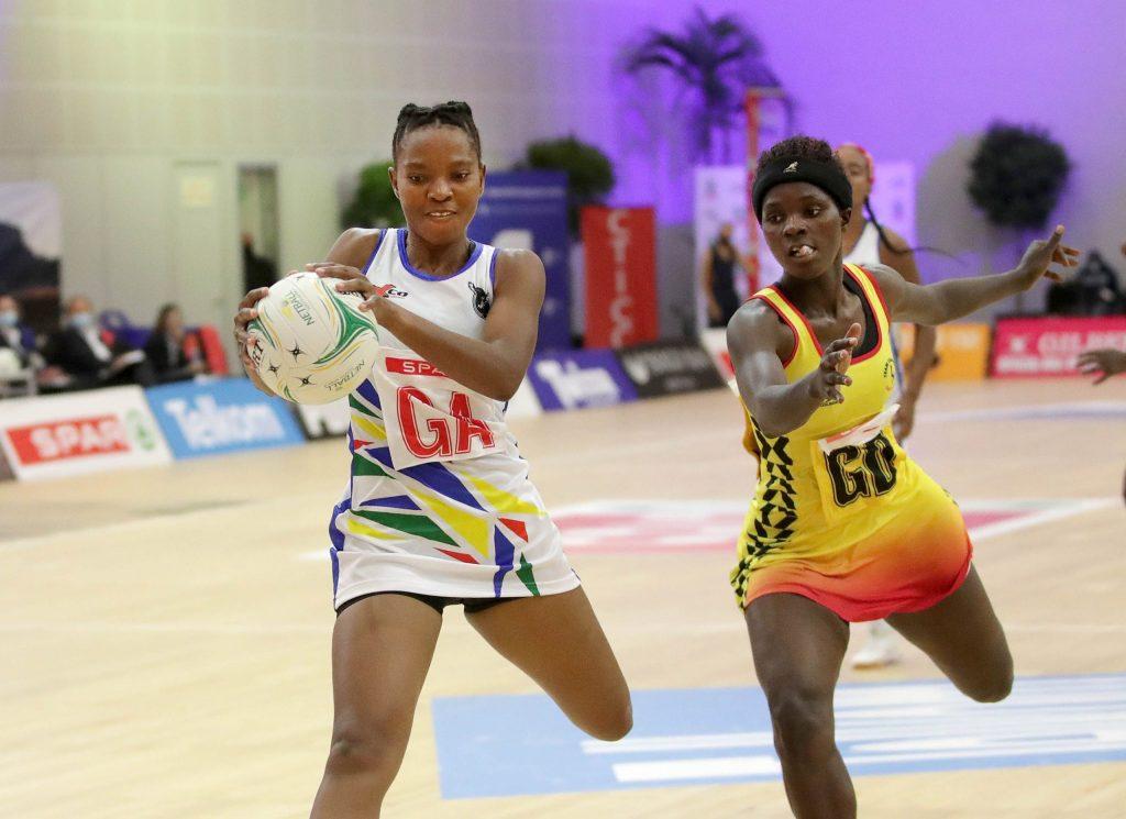 Namibia's netball team lose to Uganda