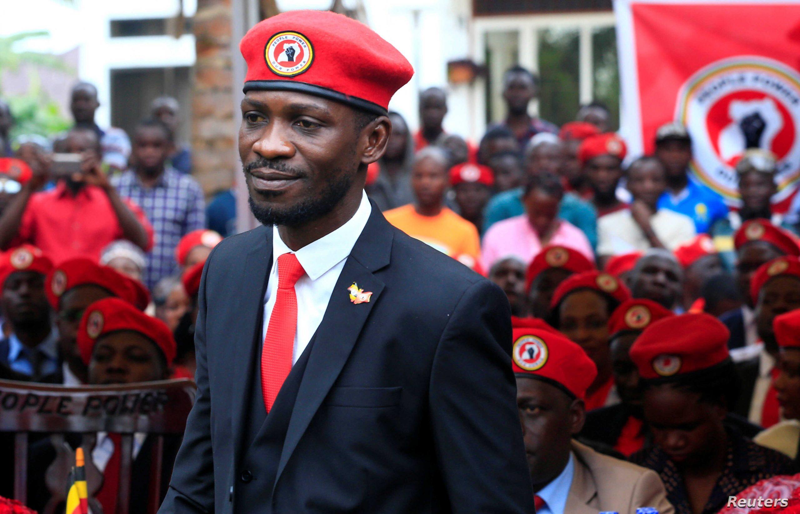 Robert Kyagulanyi aka Bobi Wine.
