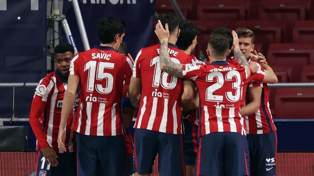 Atletico Madrid extend lead at the top of La Liga
