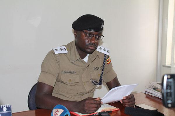 Uganda Police warns those organizing events and festivals