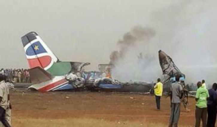 Plan crush, kills 10 in South Sudan