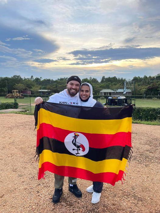 Famous YouTuber Khalid Al Ameri arrive in Uganda