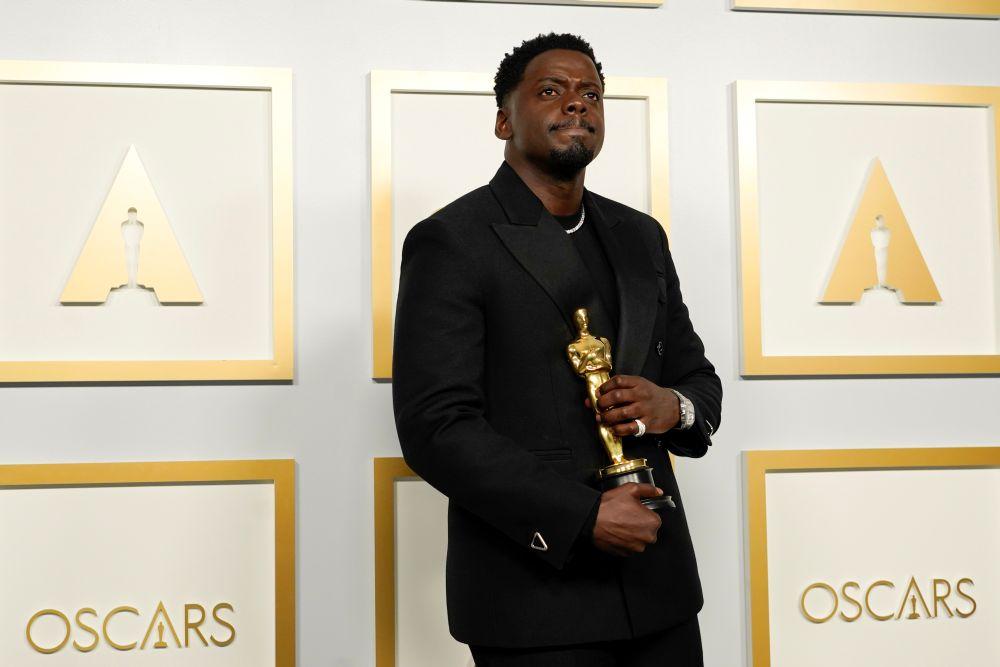 Daniel Kaluuya wins Oscar for 'Judas and Black Messiah
