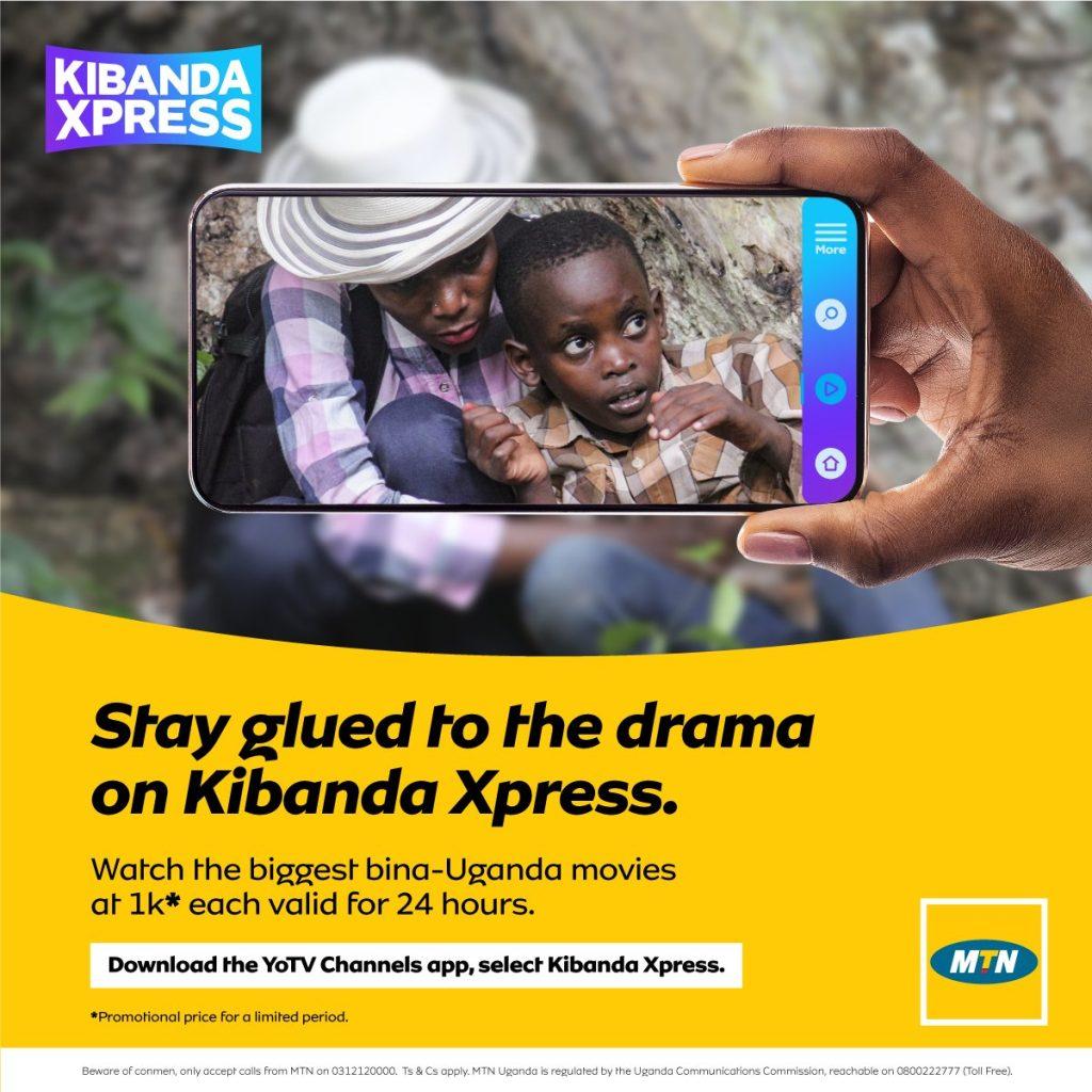 MTN Uganda launches Kibanda Xpress a channel for Ugandan Movies