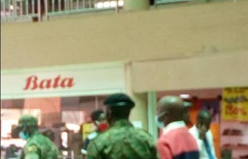 Kabaka Ronald Muwenda Mutebi spotted doing shopping at Capital Shoppers Supermarket