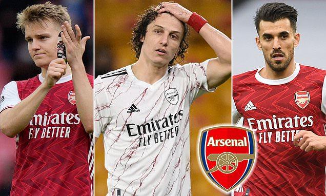 Dani Ceballos, David Luiz, Martin Odegaard and Mat Ryan to leave Arsenal