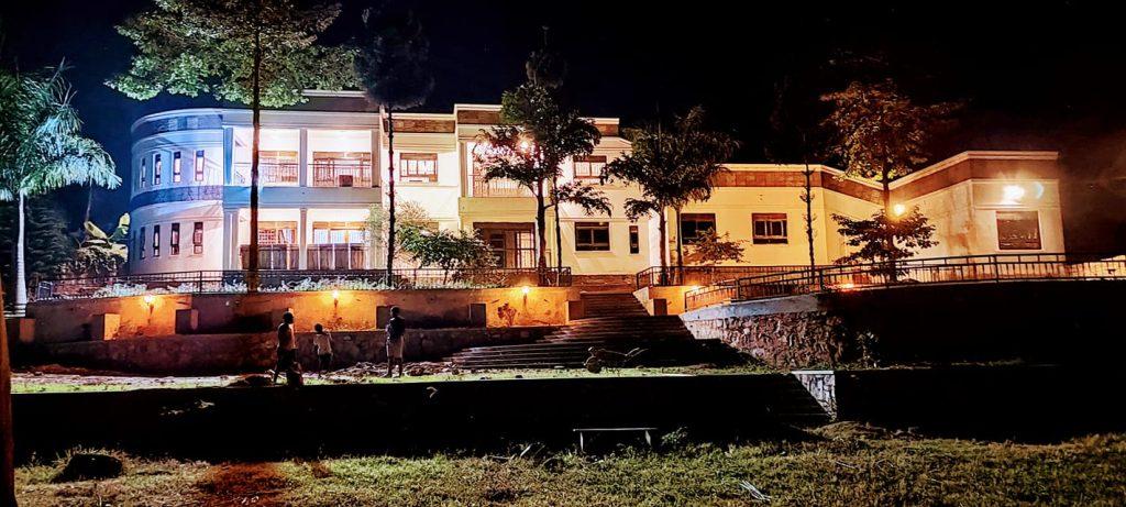 Photos: Eddy Yawe Bobi Wine's brother show off mega-mansion