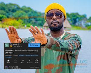 Eddy Kenzo's Tweyagale song featuring Masaka Kids Africana hits 100M views