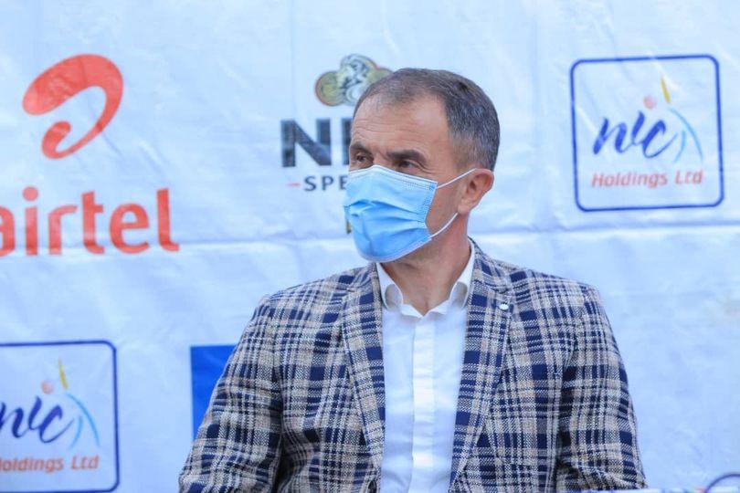 Micho officially unveiled as the new Uganda Cranes coach (Photos)