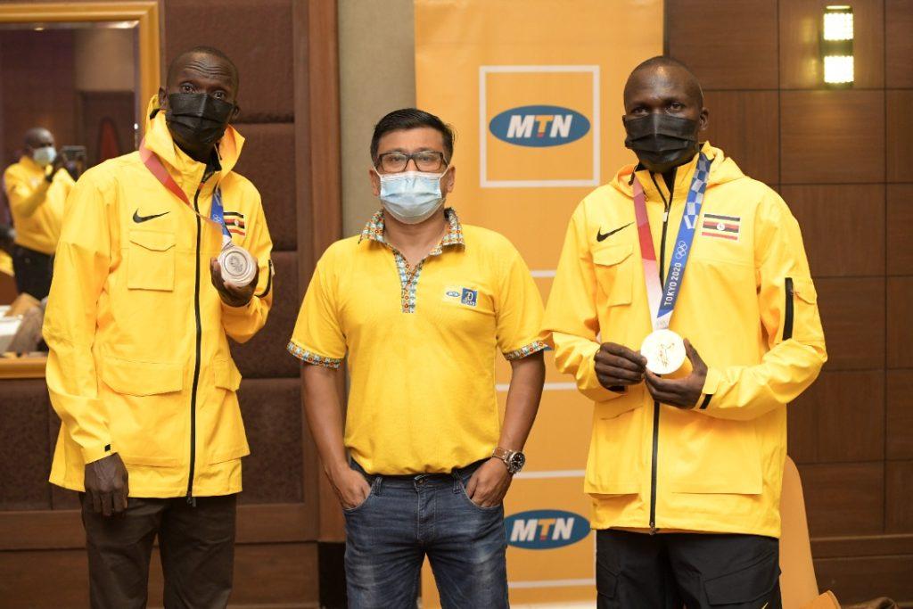 MTN Uganda rewards Tokyo 2020 Uganda athletes Olympics Team