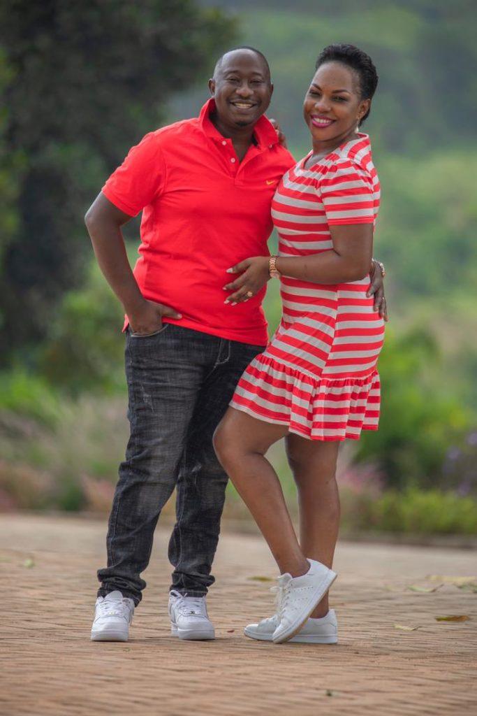 Solomon Serwanjja and his wife celebrate 6th wedding anniversary
