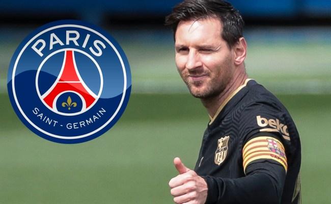 Lionel Messi agrees PSG move