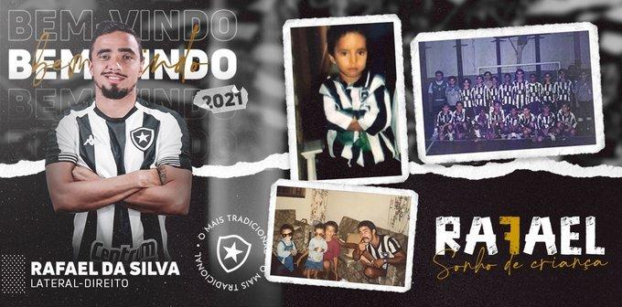 Ex-Man United defender Rafael da Silva joins Botafogo