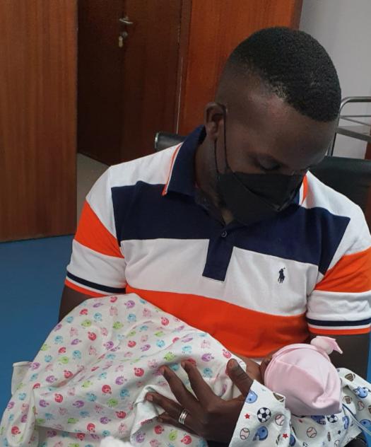 Joe Ssenyonyi and wife Welcome baby bouncing girl